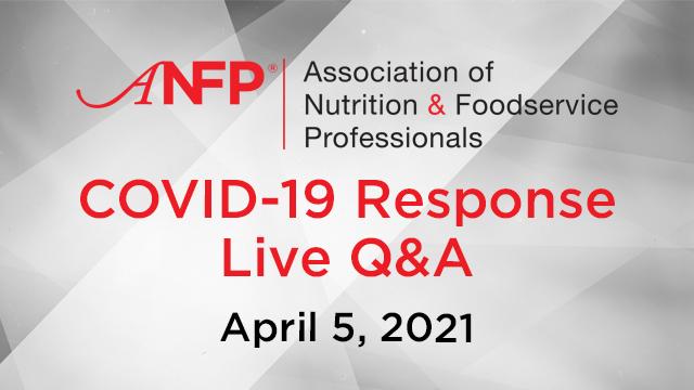 Webinar - COVID-19 Response Live Q&A - April 5, 2021