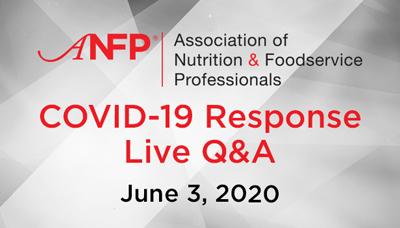 Webinar - COVID-19 Response Live Q&A – June 3, 2020