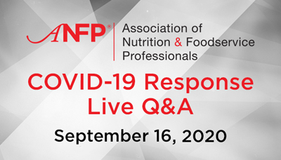 Webinar - COVID-19 Response Live Q&A - September 16, 2020