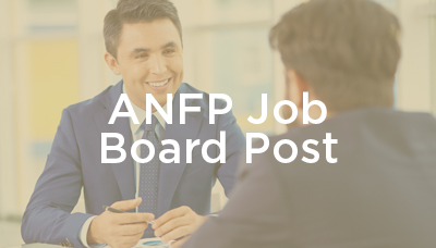 ANFP Job Board Posting